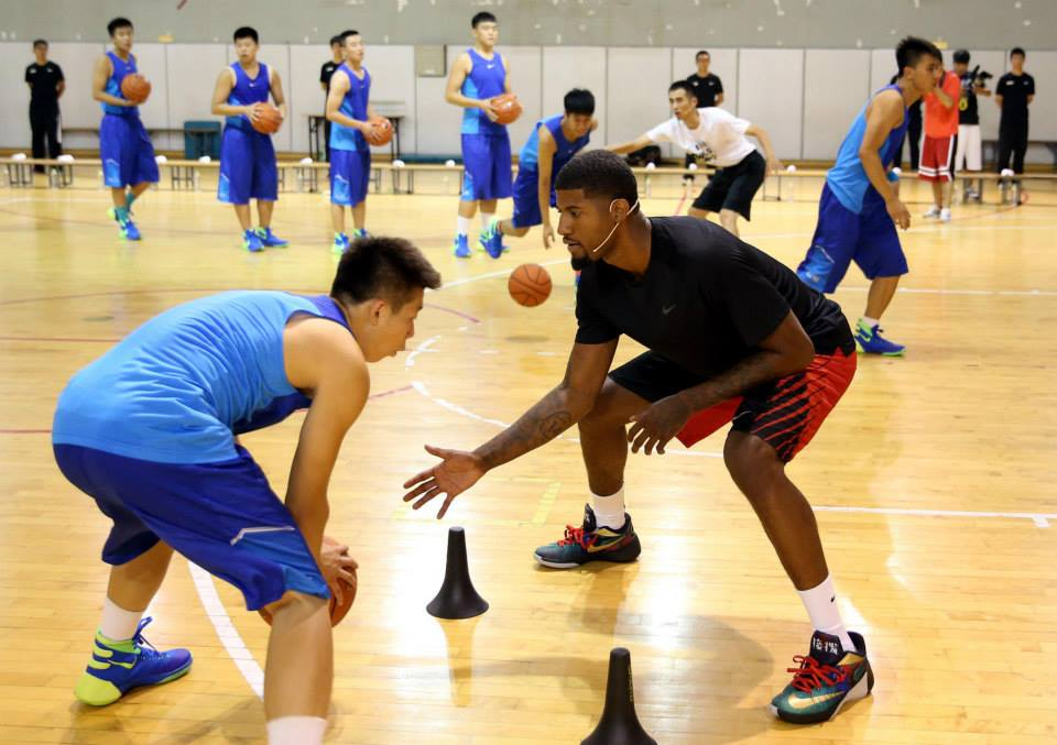 Paul George Visits China