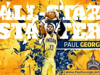 Paul george news paul george paul george absolutely earned starting spot in all star game voltagebd Choice Image